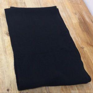 Black infinity scarf